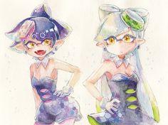 しおからーず。 by MizoreAme #SquidSisters #Callie #Marie