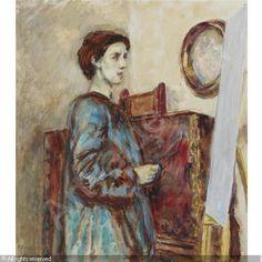 Grant Duncan's Portrait of Vanessa Bell