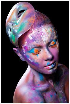 #INCOGNITO #editorial #COVER  Published in @ Make-Up Magazine Romania #3-4/14 (09-10) - 6 steps & cover  MUA: Diana Enaiche Photo: Bogdan Dancu Model: Madalina Sinoae