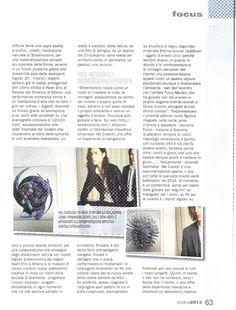 """Sul numero di ottobre 2013 della Rivista Graph del Sole 24Ore un lungo articolo dal titolo """"Il DNA del bello"""" racconta il progetto Streamcolors. Pag. 63 #arte #moda #design #etro"""
