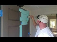 How to paint your door. - YouTube