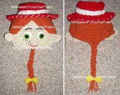 Toy Story Crochet Hats   Jessie
