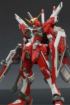 GUNDAM GUY: MG 1/100 Infinite Justice Gundam - Painted Build