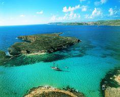 The Blue Lagoon, Comino! │ #VisitMalta visitmalta.com