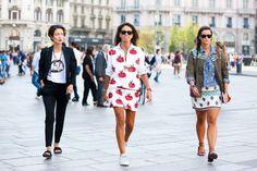 Da Londra a Milano tutti gli street style delle settimane della Moda! #LFW15 #MFW15 #streetstyle