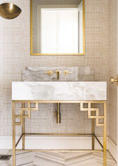 Splendid See all our stylish art deco bathrooms design ideas. Art Deco inspired black and white design. The post See all our stylish art deco bathrooms design ideas. Art Deco inspired black and… appeared first on 99 Decor . Bathroom Inspiration, Bathroom Interior, Interior Deco, Bathrooms Remodel, Gold Bathroom, Bathroom Decor, Interior, Bathroom Design, Home Decor