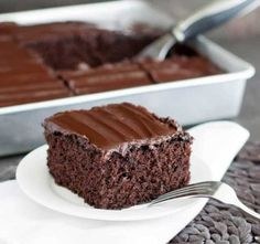 Crazy Chocolate Olive Oil Cake - The Merchant Baker Chocolate Olive Oil Cake, Chocolate Espresso, Chocolate Cakes, How Sweet Eats, Love Is Sweet, Danish Dessert, Cake Recipes, Dessert Recipes, Muffins