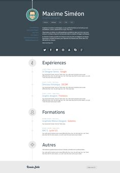 Free Graphic Designer Resume Template