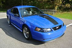 Muustang 2003 - Used Ford Mustang for sale in Grafton, Ohio Sn95 Mustang, 2003 Ford Mustang, Blue Mustang, Ford Mustang For Sale, Limo For Sale, Cars For Sale, Ford Sierra, Hatchback Cars, Used Ford