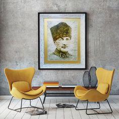 Atatürk / Aysel Koçtan /  90x110 on Marbering