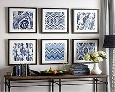 Knock Off Pottery Barn Wall Art. This is such a great idea. I can't wait to try it.