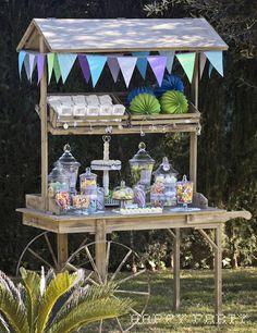 Happy Party: El carro de golosinas para la Comunión de Manuel