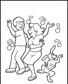 Image result for Dance Party Drawing
