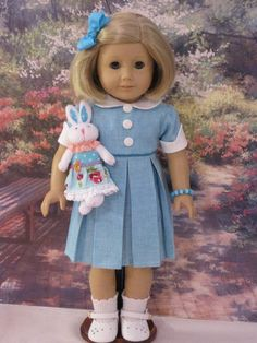 "Susie's 18"" Doll Clothes Fit American Girl Doll Kit Molly Julie McKenna Saige 