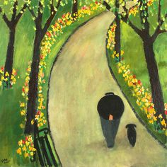 A Man and His Dog - Gary Bunt