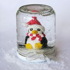 DIY pingouin de Noël
