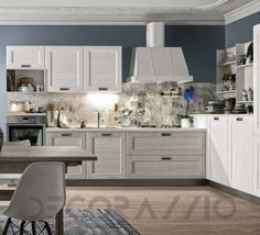 #kitchen #design #interior #furniture #furnishings #interiordesign  комплект в кухню Stosa York, St.С147
