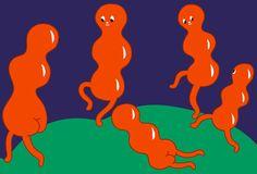 Molecular dance