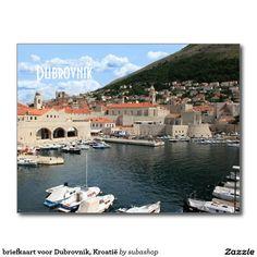 briefkaart voor Dubrovnik, Kroatië
