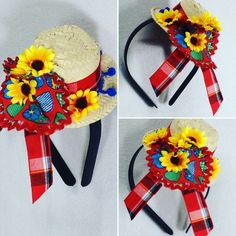 Crafts To Make And Sell, Diy And Crafts, Crafts For Kids, African Hats, Country Dresses, Kanzashi, Beautiful Little Girls, Diy Hair Accessories, Pet Shop