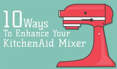 Go from mixer to the ultimate kitchen tool with these 10 stand mixer attachments from KitchenAid. It's everything you'll need from juicing to grinding!