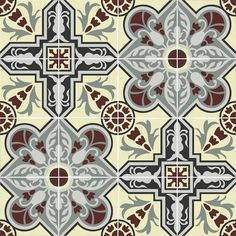 A Cuban cement tile backsplash is a popular choice for a kitchen backsplash, wall or wainscot because the tiles add color, pattern, and the appearance of texture or movement. Tile Backsplash, Tiles, Remodel, Backsplash, Cement Tile, Colonial, Wainscoting