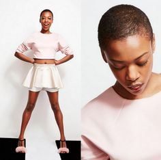Samira Wiley (Poussey)...My favorite character from OITNB. Also unbelievably beautiful!!!