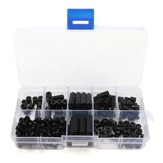 160pcs M3 Nylon Black + 88pcs M3 Nylon White Screw Nut Assortment Kit  Worldwide delivery. Original best quality product for 70% of it's real price. Buying this product is extra profitable, because we have good production source. 1 day products dispatch from warehouse. Fast & reliable...