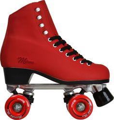 Rollers Quad Powerslide Melrose Rouge … Plus Retro Roller Skates, Roller Skate Shoes, Quad Roller Skates, Roller Hockey, Roller Derby, Roller Skating, Ice Skating, Rolling Skate, Rio Roller