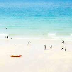 Porthmeor Beach in St Ives, Cornwall | 16 Places You'll Hardly Believe Are In The United Kingdom