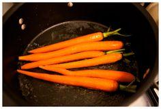 butter glazed carrots