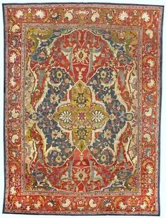 Persian Sultanabad rug, late 19th century
