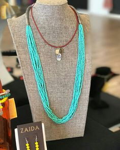 Looking for a necklace for that outfit? We have it for you. We have a whole collection of them.