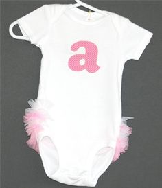 Hey, I found this really awesome Etsy listing at https://www.etsy.com/listing/45630306/ruffle-bottom-bodysuit-with-your-childs