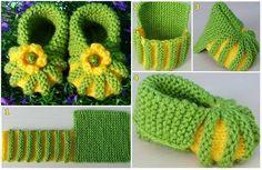 Free Crochet Sock Patterns - Beautiful Crochet Patterns and Knitting Patterns Baby Booties Knitting Pattern, Crochet Socks Pattern, Love Knitting, Booties Crochet, Crochet Baby Shoes, Crochet Baby Booties, Baby Knitting Patterns, Knitting Socks, Crochet Patterns