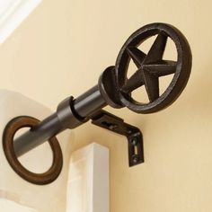 The Texas Star Drapery Rod Is Designed For Everyone Loves To Decorate