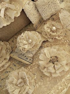 Shabby Chic Inspiré: coudre
