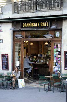 パリのカフェ パリ観光の写真