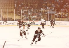Old L.A. Kings Hockey Practice At The Iceoplex