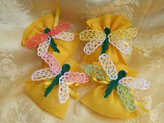 bomboniere sacchetti confetti, by maglieria magica, 5,00 € su misshobby.com
