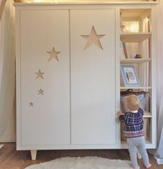 1000 ideas about armoire 3 portes on pinterest armoire 2 portes armoire 4 - Armoire 1 porte penderie ...