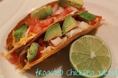 Roasted Chickpea Tacos.