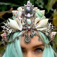 "The mermaid trend is becoming more popular with fashion trend. To mermaid hair, make up, clothes, and crowns. Celebrities like Paris Hilton, Lady Gaga, and Katy Perry is co-opted mermaid imagery. But now the new wave of ""mermaiding"" is upon us. -Ashlie Roswall"