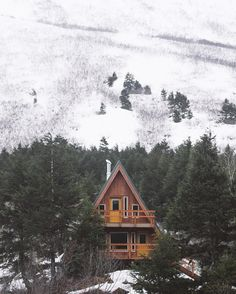 I think think this is in Alaska, but I saw places like this in Colorado.