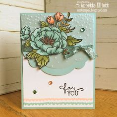 AEstamps a Latte...: Birthday Blooms for Sunday Stamps!