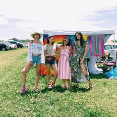 """We made it through three days in the wild of Bonnaroo. What's one more?"" - Honey & Silk"