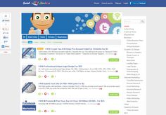 Buy and Sell Freelancing Seo, Social Media and Internet Marketing Services - SocialHawkers