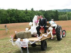 wedding tractor - Google Search