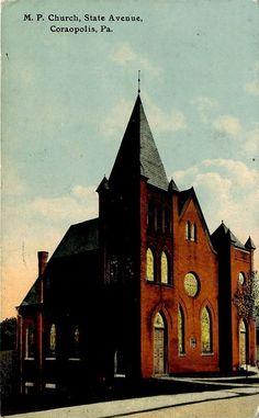 CORAOPOLIS PA CHURCH ON STATE AVE