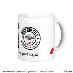 I Love Redwood City Fan Club 578 Coffee Mug 127